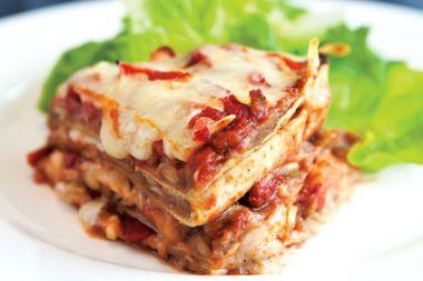 Fast Mexican Lasagna