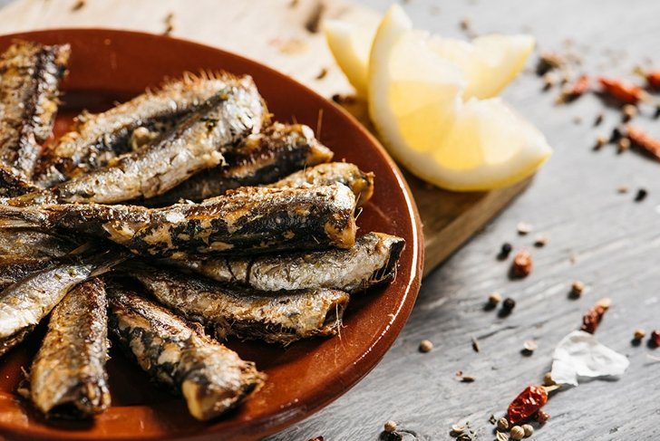 healthy sardines