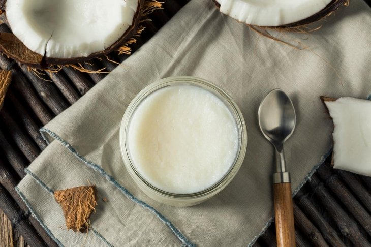 Raw White Organic Coconut OIl for Baking