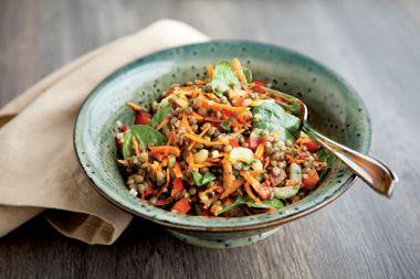 Green Lentil Salad