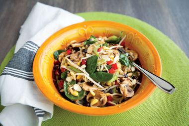 Cool Rice and Beans Salad