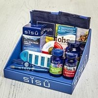 Win one of two SISU wellness baskets filled with the essentials you need for a healthy heart!