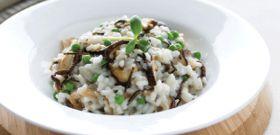 Meatless Monday: Arame, Shiitake, and Pea Risotto
