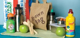 Brown Bags Go Green