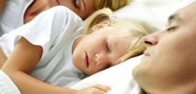 Sleeping with Mom and Dad may Prevent Obesity