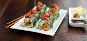 Meatless Monday: Garden Sushi Rolls