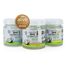 Whiten your teeth with Alpha DME™ Virgin Coconut Oil!