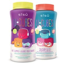 Nourish little bodies and growing minds with SISU U-Cubes™!
