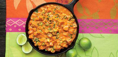Sweet Potato Salmon Curry