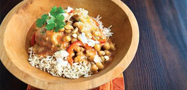 Thai Chicken and Red Pepper Curry