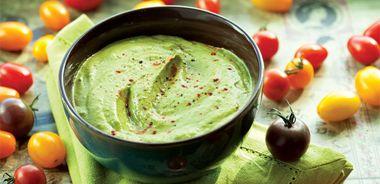 Smoky Avocado Spinach Dip
