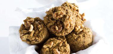 Apple Lentil Muffins