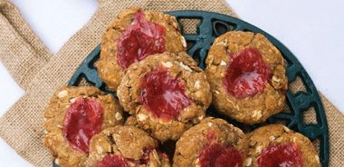 Wholesome Strawberry Thumbelina Cookies