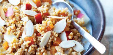 Almond Apple Millet Cereal