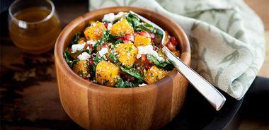 Fall Harvest Hemp Salad