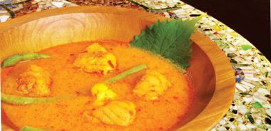 Pacific Halibut in Coconut Curry