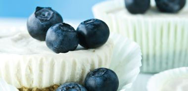 No-Bake Mini Cheesecake