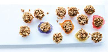 Apple Ricotta Mini Muffins