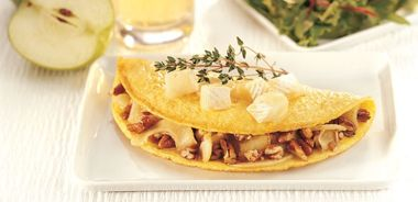 Apple and Brie Omelette