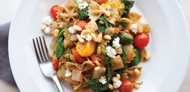 Tomato, Fennel, and Goat Cheese Pasta
