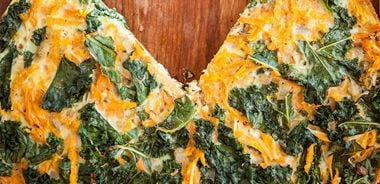 Sweet Potato Kale Frittata
