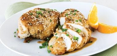 Simple Sesame Grilled Chicken