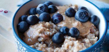 Spelt Blueberry Porridge