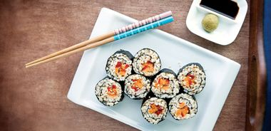 Red Wine and Maple Sushi