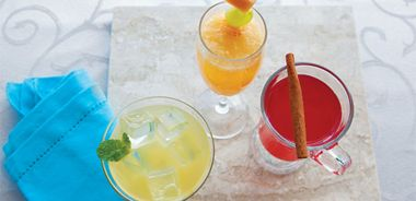 Mix it up with Mocktails