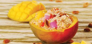 Wild Rice and Mango Summer Salad