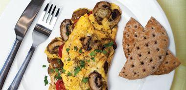 Cremini Omelette