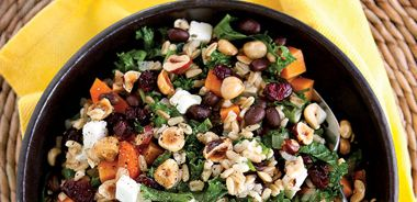 Oat and Sweet Potato Salad