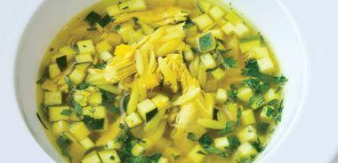 Sunshine Chicken Soup