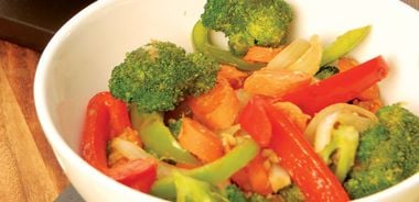 Garlic-Ginger Vegetable Stir-Fry