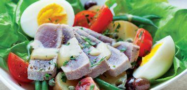 Mediterranean Combination Salad
