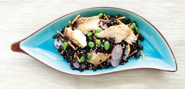 Black Rice Arctic Char Salad