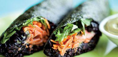 Salmon Nori Rolls