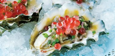 Fresh West Coast Oysters Served Two Ways