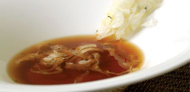 Organic Duck Broth with Fennel, Orange and Thyme