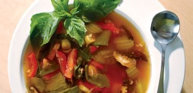 Thai Hot and Sour Soup (Tom Yum Gai)