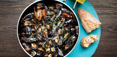 Mussels in Smoky Tomato Broth