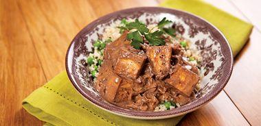 Creamy Tofu Carob Stew