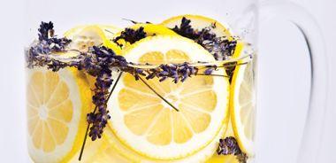 Lemony Lavender Water