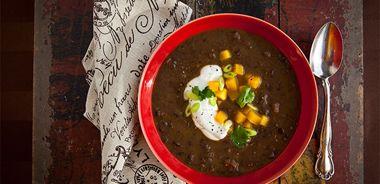 Cowboy Black Bean Soup