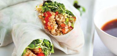 Quinoa Spring Rolls