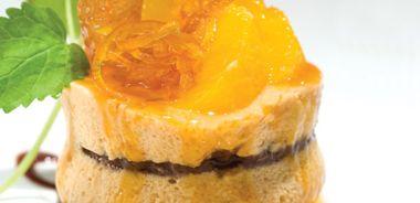 Dulce de Leche Mousse Cake