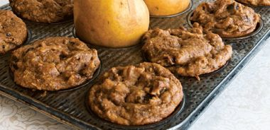 Perfect Pear Muffins