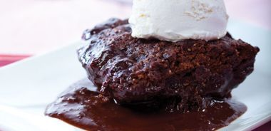 Fudge Brownie Chocolate Pudding Cake