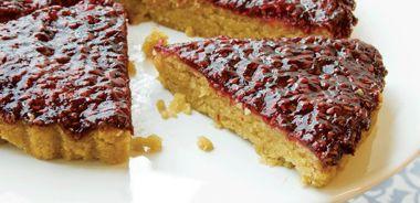 Raspberry Almond Torte (gluten free)