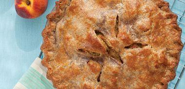 Peach Pistachio Pie